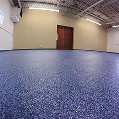 Concrete Coating - Penntek Quartz System - Office
