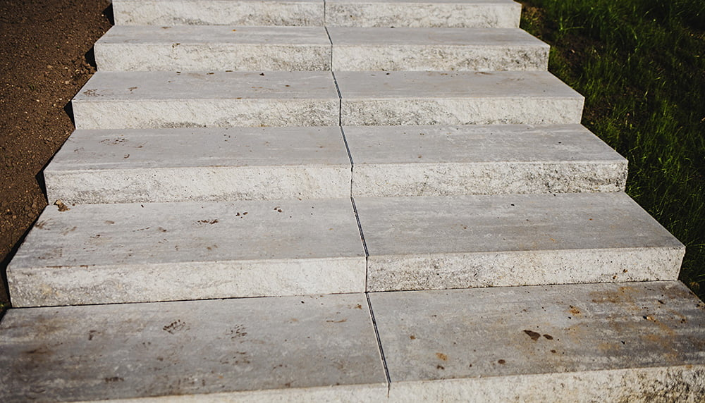 What to Do With Sunken Concrete Steps?